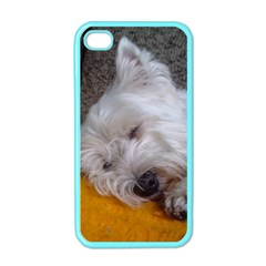 Westy Sleeping Apple iPhone 4 Case (Color)