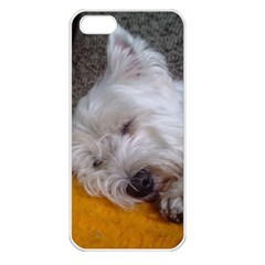 Westy Sleeping Apple iPhone 5 Seamless Case (White)