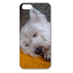 Westy Sleeping Apple Seamless iPhone 5 Case (Clear)
