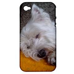 Westy Sleeping Apple iPhone 4/4S Hardshell Case (PC+Silicone)
