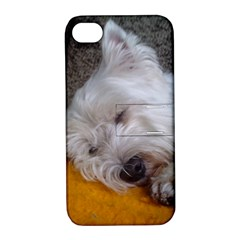 Westy Sleeping Apple iPhone 4/4S Hardshell Case with Stand