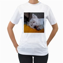 Westy Sleeping Women s T-Shirt (White)
