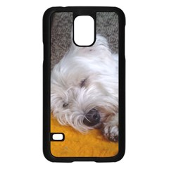 Westy Sleeping Samsung Galaxy S5 Case (Black)
