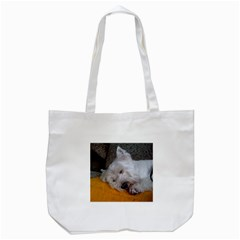 Westy Sleeping Tote Bag (White)