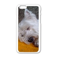 Westy Sleeping Apple iPhone 6/6S White Enamel Case