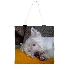 Westy Sleeping Grocery Light Tote Bag