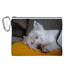 Westy Sleeping Canvas Cosmetic Bag (L)