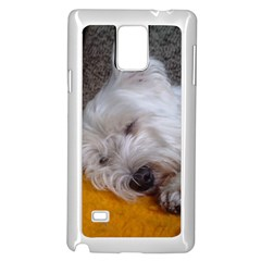 Westy Sleeping Samsung Galaxy Note 4 Case (White)