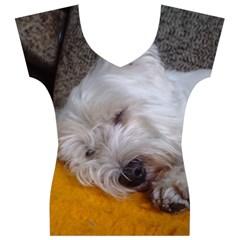 Westy Sleeping Women s V-Neck Cap Sleeve Top