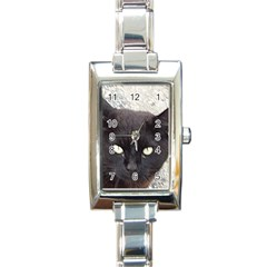 Manx Rectangle Italian Charm Watch