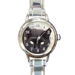 Manx Round Italian Charm Watch