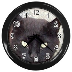 Manx Wall Clocks (Black)