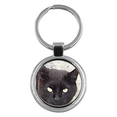 Manx Key Chains (Round)