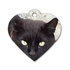 Manx Dog Tag Heart (Two Sides)