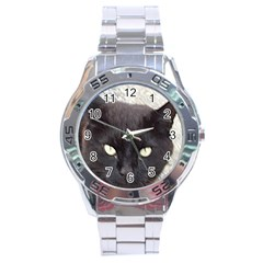Manx Stainless Steel Analogue Watch