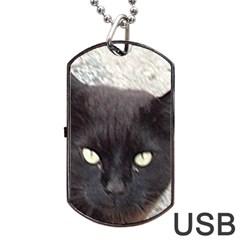 Manx Dog Tag USB Flash (One Side)