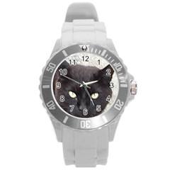 Manx Round Plastic Sport Watch (L)