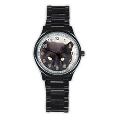 Manx Stainless Steel Round Watch