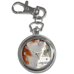 Norwegian Forest Cat Sitting 4 Key Chain Watches