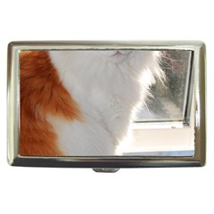Norwegian Forest Cat Sitting 4 Cigarette Money Cases