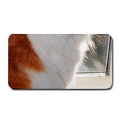 Norwegian Forest Cat Sitting 4 Medium Bar Mats