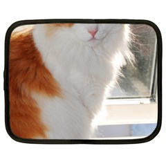 Norwegian Forest Cat Sitting 4 Netbook Case (XXL)