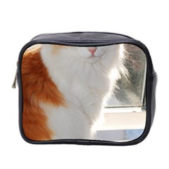 Norwegian Forest Cat Sitting 4 Mini Toiletries Bag 2-Side