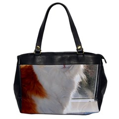 Norwegian Forest Cat Sitting 4 Office Handbags