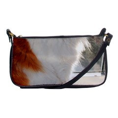 Norwegian Forest Cat Sitting 4 Shoulder Clutch Bags