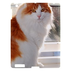 Norwegian Forest Cat Sitting 4 Apple iPad 3/4 Hardshell Case