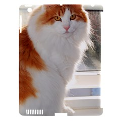 Norwegian Forest Cat Sitting 4 Apple iPad 3/4 Hardshell Case (Compatible with Smart Cover)