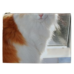 Norwegian Forest Cat Sitting 4 Cosmetic Bag (XXL)