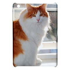 Norwegian Forest Cat Sitting 4 Apple iPad Mini Hardshell Case
