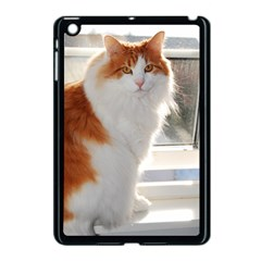 Norwegian Forest Cat Sitting 4 Apple iPad Mini Case (Black)