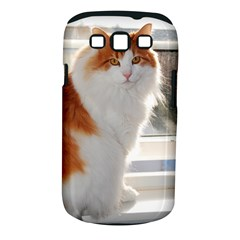 Norwegian Forest Cat Sitting 4 Samsung Galaxy S III Classic Hardshell Case (PC+Silicone)