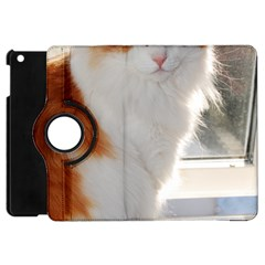 Norwegian Forest Cat Sitting 4 Apple iPad Mini Flip 360 Case