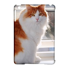 Norwegian Forest Cat Sitting 4 Apple iPad Mini Hardshell Case (Compatible with Smart Cover)