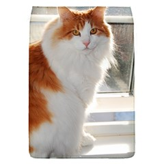 Norwegian Forest Cat Sitting 4 Flap Covers (S)