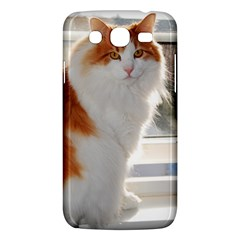 Norwegian Forest Cat Sitting 4 Samsung Galaxy Mega 5.8 I9152 Hardshell Case