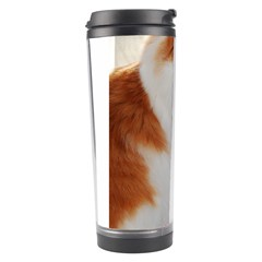 Norwegian Forest Cat Sitting 4 Travel Tumbler