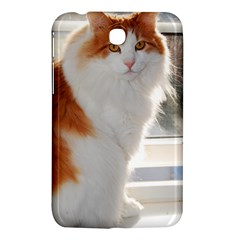 Norwegian Forest Cat Sitting 4 Samsung Galaxy Tab 3 (7 ) P3200 Hardshell Case
