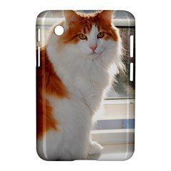 Norwegian Forest Cat Sitting 4 Samsung Galaxy Tab 2 (7 ) P3100 Hardshell Case