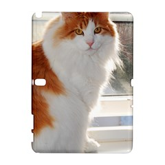 Norwegian Forest Cat Sitting 4 Galaxy Note 1