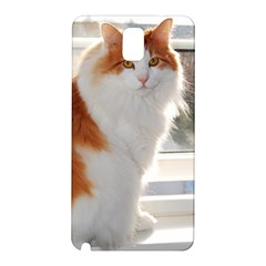 Norwegian Forest Cat Sitting 4 Samsung Galaxy Note 3 N9005 Hardshell Back Case