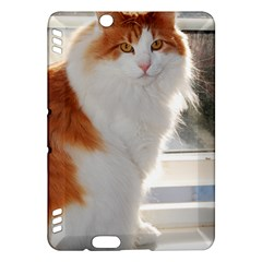 Norwegian Forest Cat Sitting 4 Kindle Fire HDX Hardshell Case