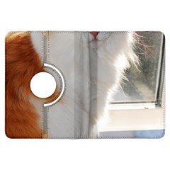 Norwegian Forest Cat Sitting 4 Kindle Fire HDX Flip 360 Case