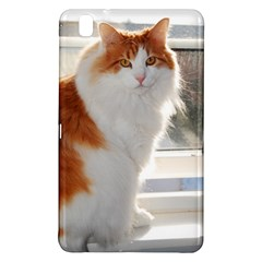Norwegian Forest Cat Sitting 4 Samsung Galaxy Tab Pro 8.4 Hardshell Case
