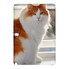 Norwegian Forest Cat Sitting 4 Samsung Galaxy Tab Pro 12.2 Hardshell Case