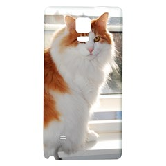 Norwegian Forest Cat Sitting 4 Galaxy Note 4 Back Case