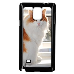 Norwegian Forest Cat Sitting 4 Samsung Galaxy Note 4 Case (Black)